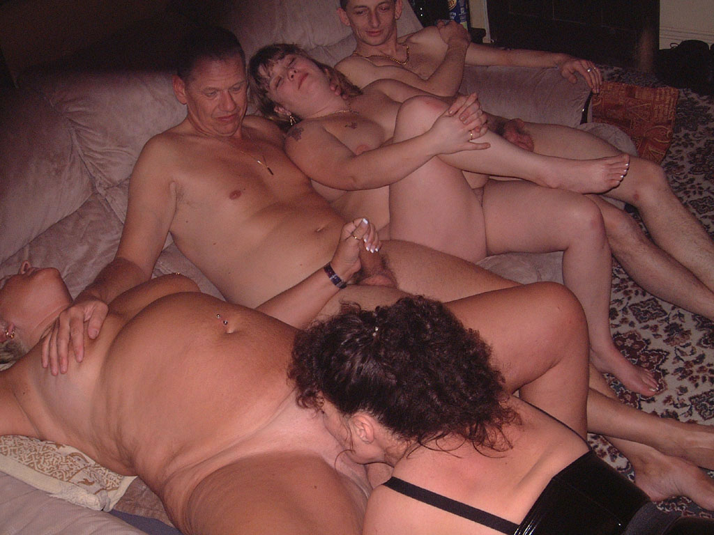 Amateur wife swap party