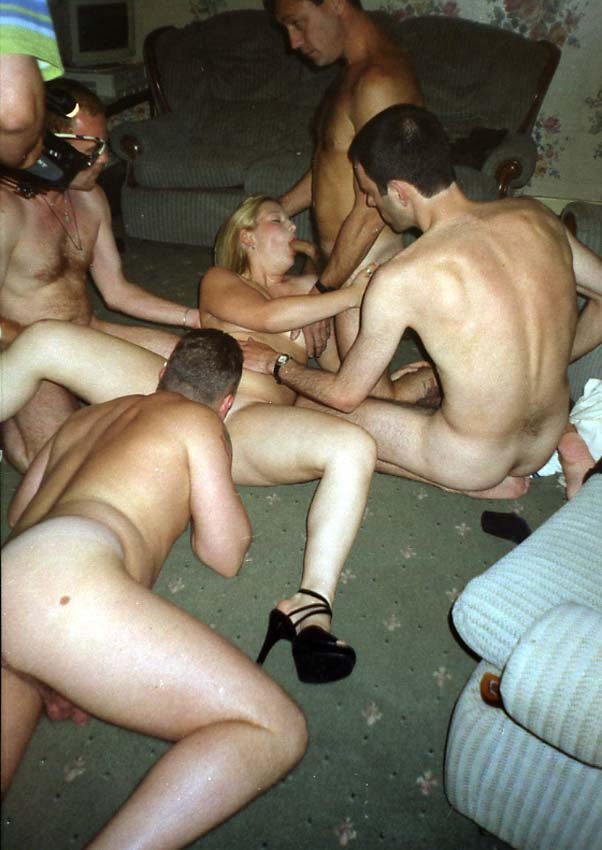 Are pantyhose gangbang wife